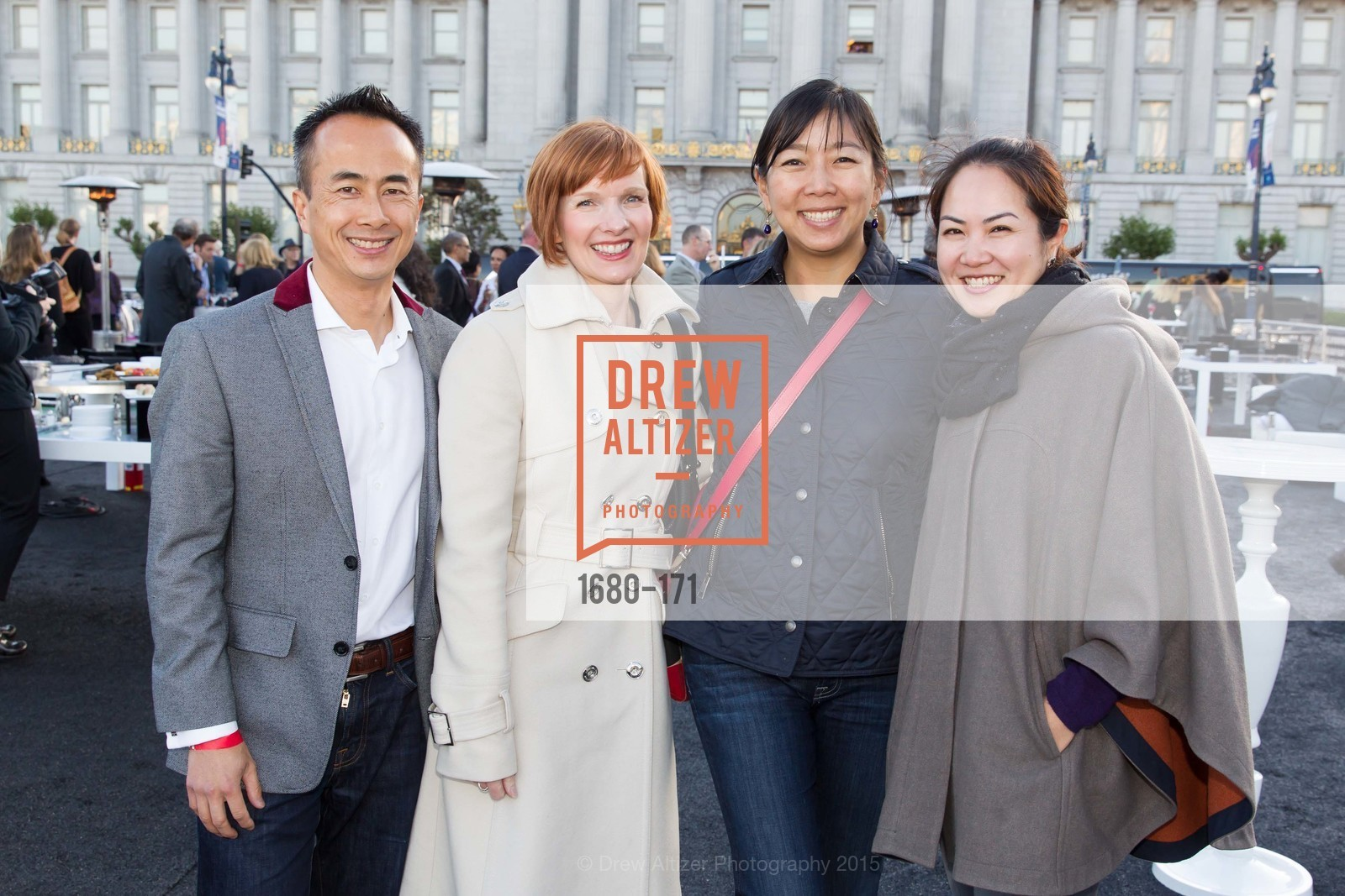Nam Doan-Huy, Wendy Peters, Alice Liu Jensen, Linda Kim, San Francisco City Hall Centennial Celebration, Civic Center Plaza, June 18th, 2015,Drew Altizer, Drew Altizer Photography, full-service agency, private events, San Francisco photographer, photographer california