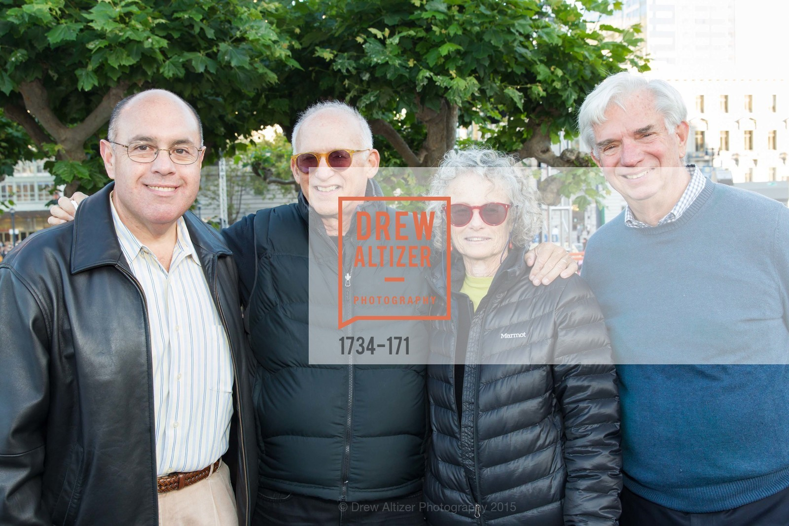Robert Vergara, Richard Bordow, Liz Bordow, Jim Briggs, San Francisco City Hall Centennial Celebration, Civic Center Plaza, June 18th, 2015,Drew Altizer, Drew Altizer Photography, full-service event agency, private events, San Francisco photographer, photographer California
