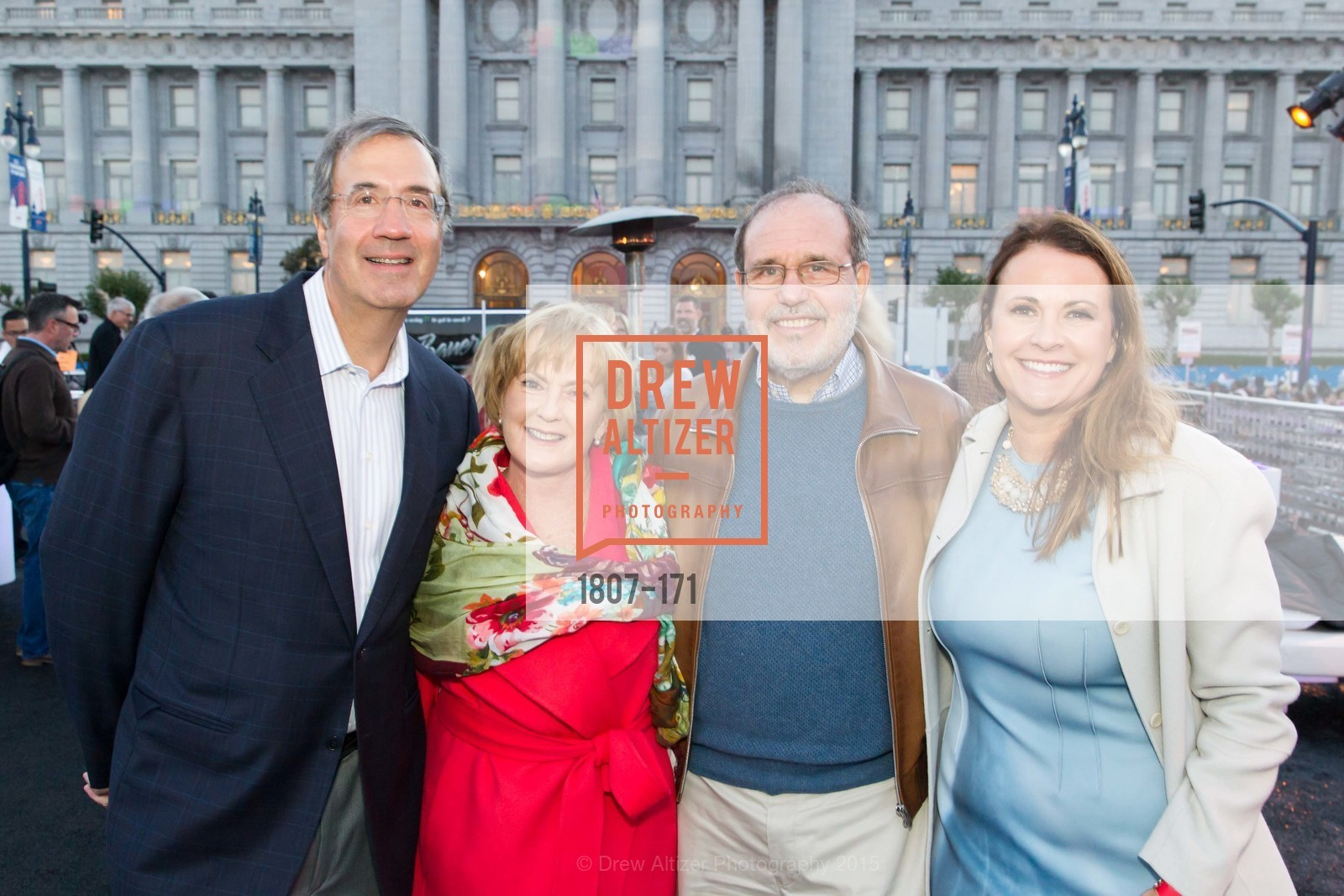 Fred Giafreda, Marie Lipman, Berry Lipman, Tanya Peterson, San Francisco City Hall Centennial Celebration, Civic Center Plaza, June 18th, 2015,Drew Altizer, Drew Altizer Photography, full-service agency, private events, San Francisco photographer, photographer california
