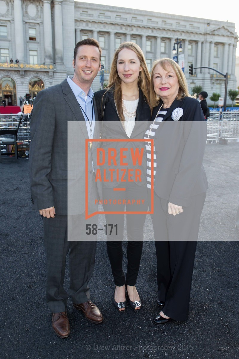 John Gavin, Kristin Gavin, Susan Colsky, San Francisco City Hall Centennial Celebration, Civic Center Plaza, June 18th, 2015,Drew Altizer, Drew Altizer Photography, full-service agency, private events, San Francisco photographer, photographer california
