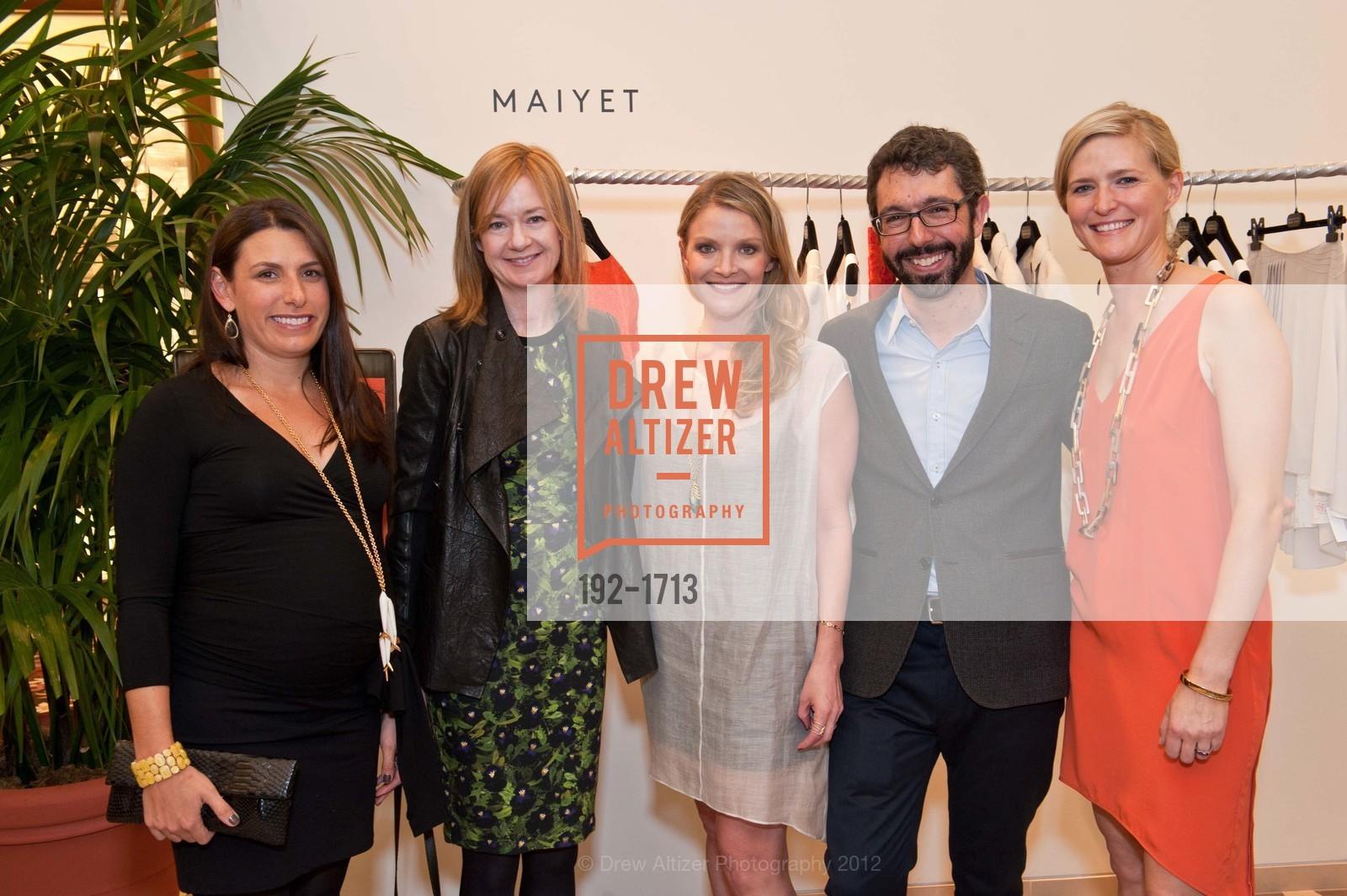 Julie Meyer, Katie Page, Kristy Caylor, Paul van Zyl, Alicia Engstrom, Photo #192-1713