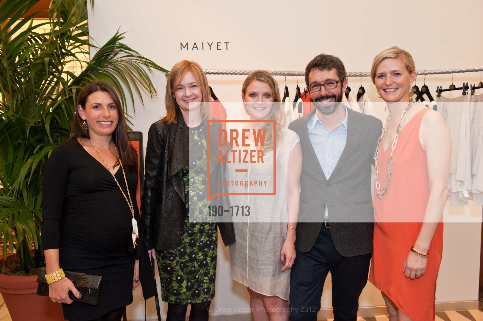 Julie Meyer, Katie Page, Kristy Caylor, Paul van Zyl, Alicia Engstrom, Photo #190-1713