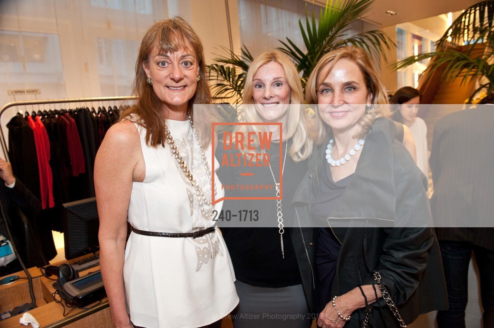 Nancy Pfund, Joan Finnigan, Mary MacRae, Photo #240-1713