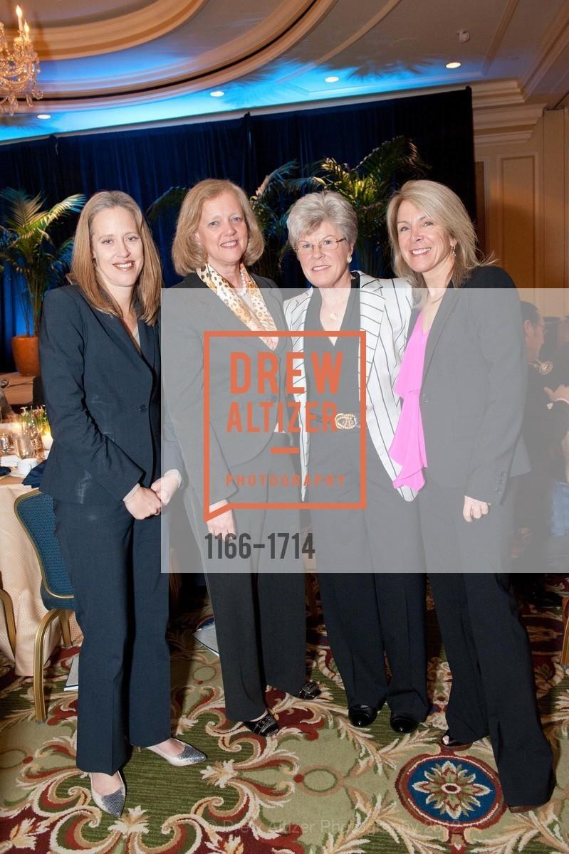 Wendy Kopp, Meg Whitman, Sharon Saunders, Ann Seclow, Photo #1166-1714