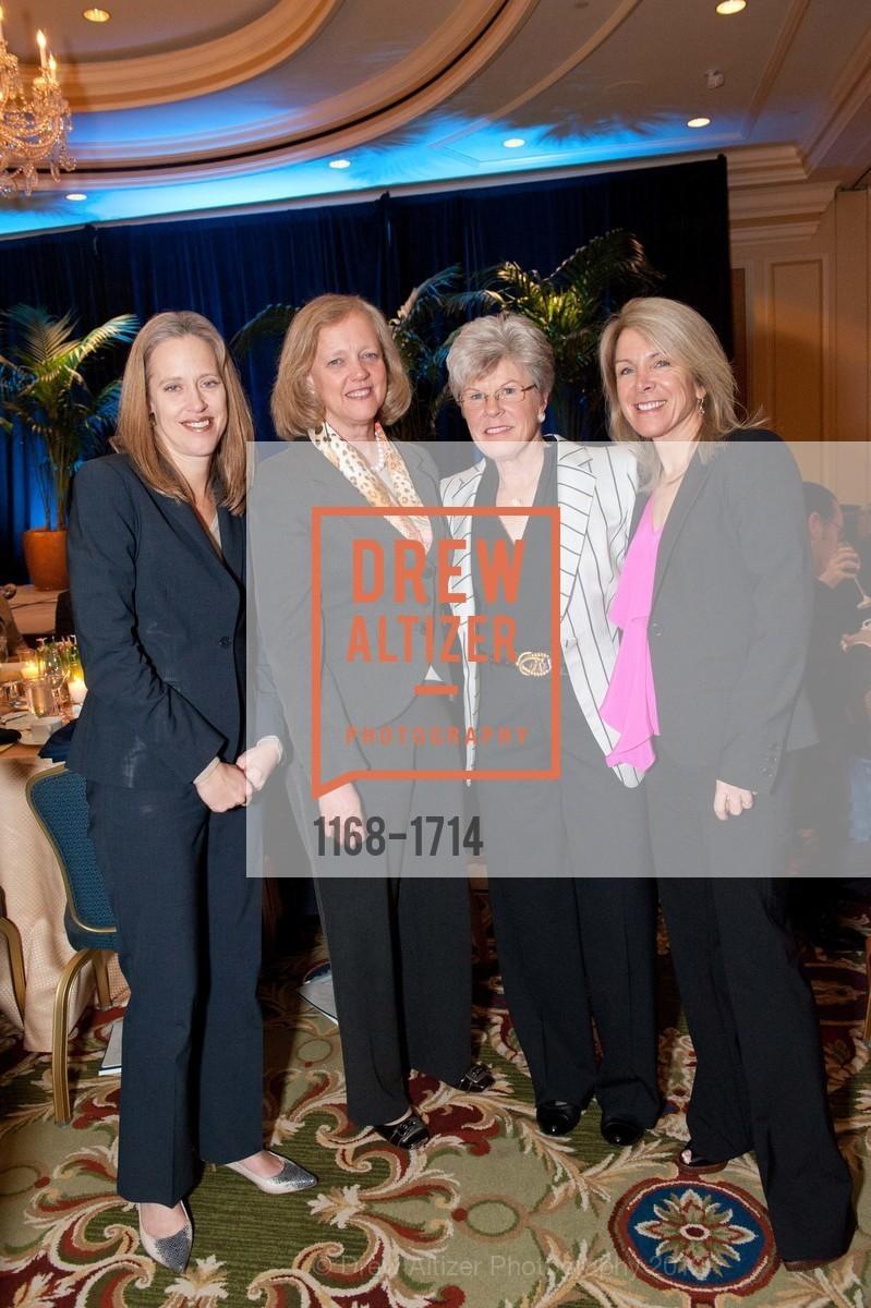 Wendy Kopp, Meg Whitman, Sharon Saunders, Ann Seclow, Photo #1168-1714