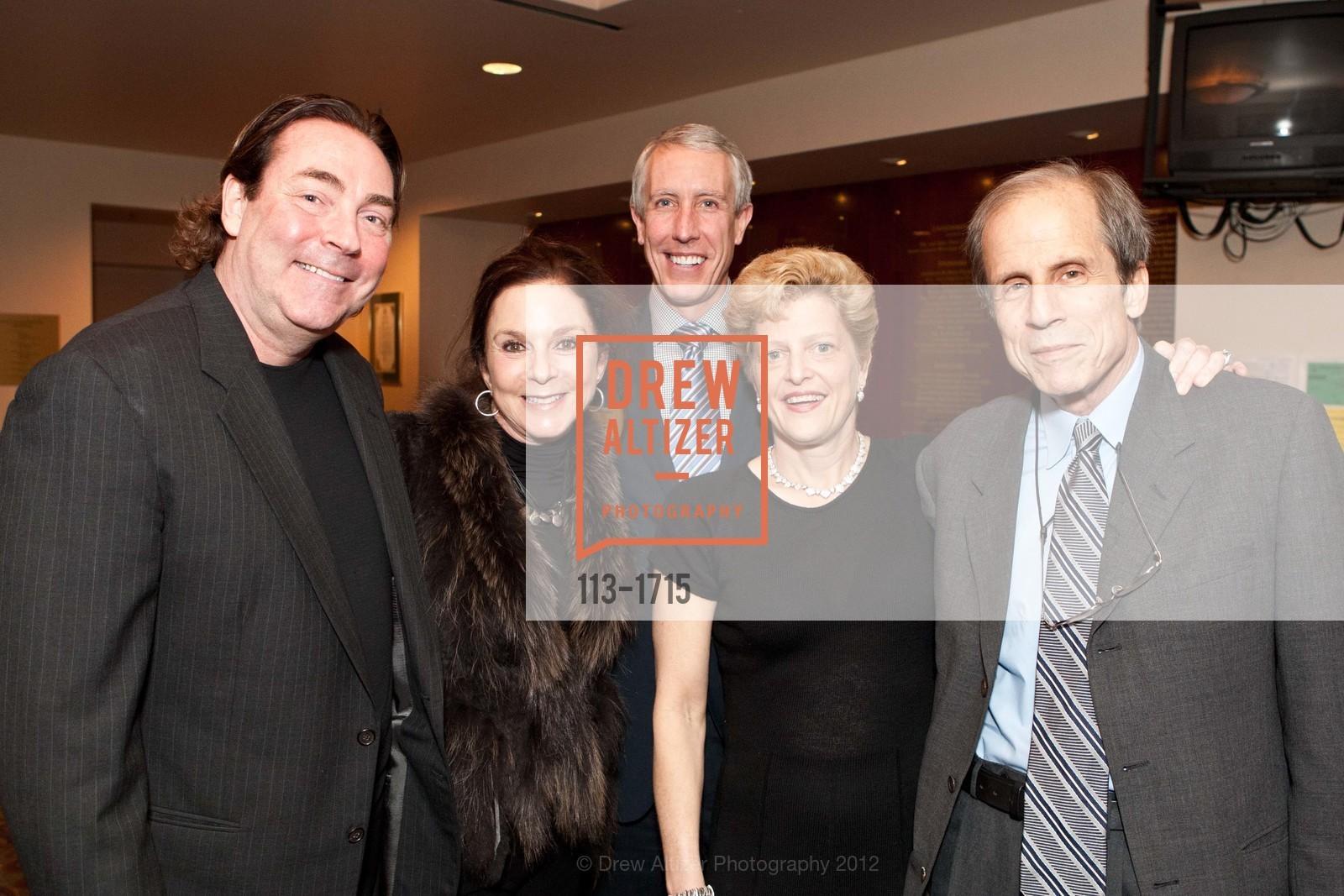 Kathleen Scutchfield, Tim Whalen, Carey Perloff, Michael Krasny, Photo #113-1715