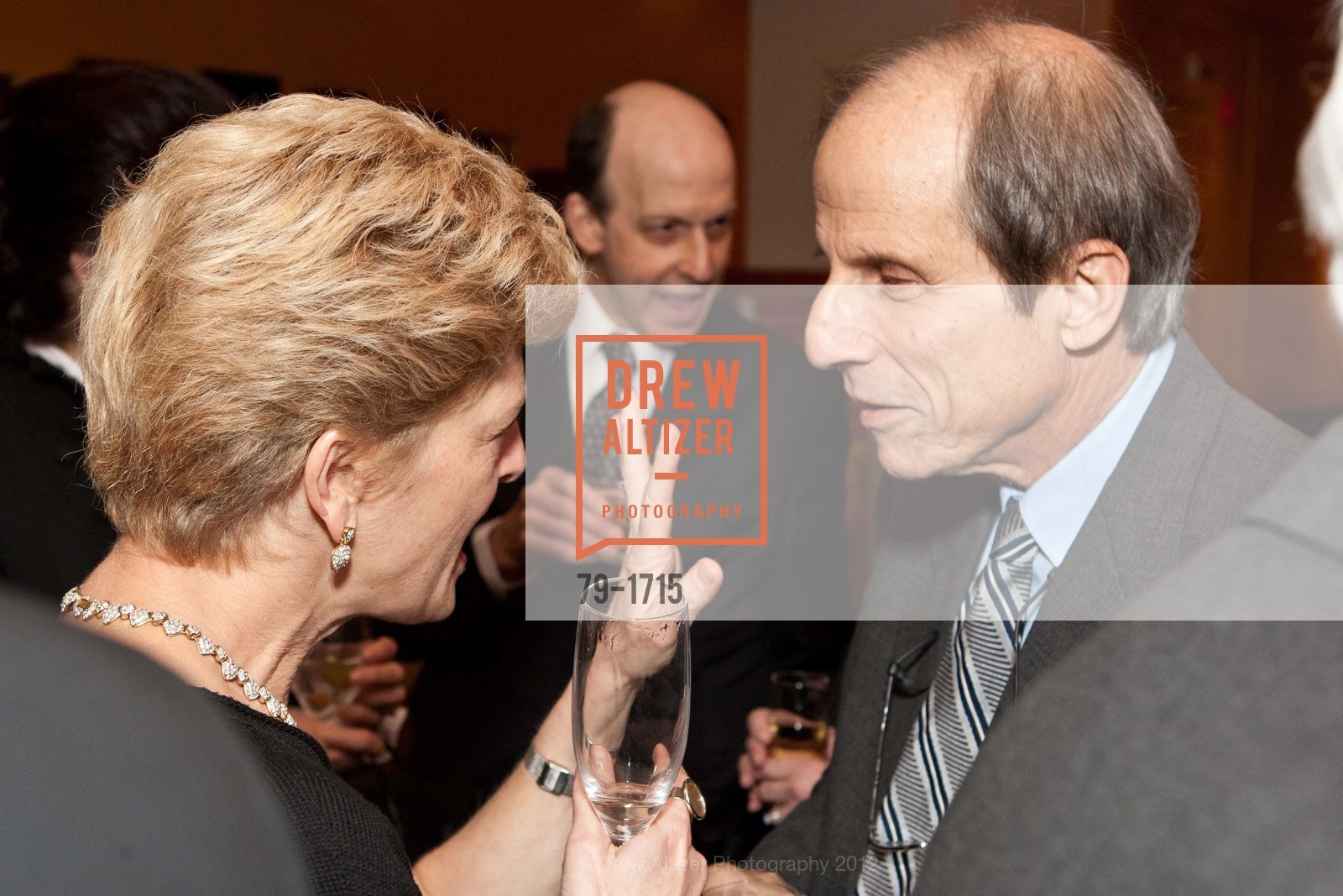 Carey Perloff, Michael Krasny, Photo #79-1715
