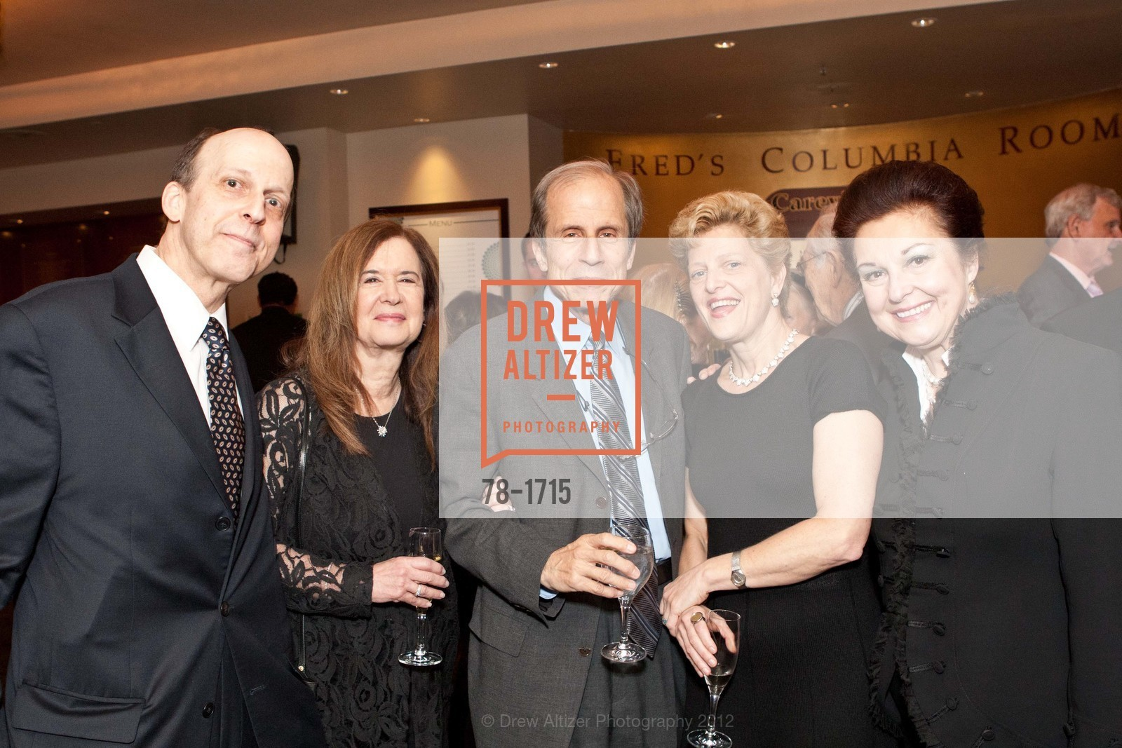 Geoffrey Green, Leslie Krasny, Michael Krasny, Carey Perloff, Marcia Green, Photo #78-1715