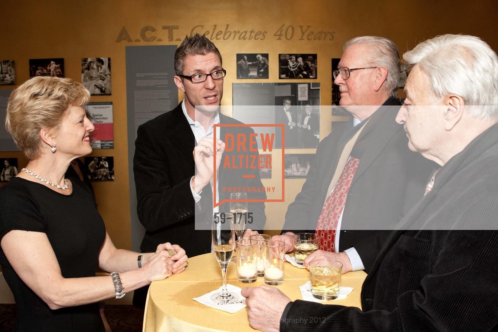 Carey Perloff, Lorenzo Thione, Tom Foutch, Milton Mosk, Photo #59-1715
