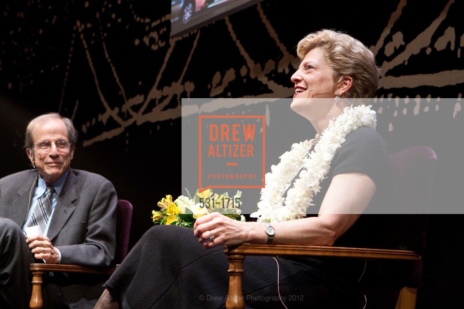 Michael Krasny, Carey Perloff, Photo #531-1715