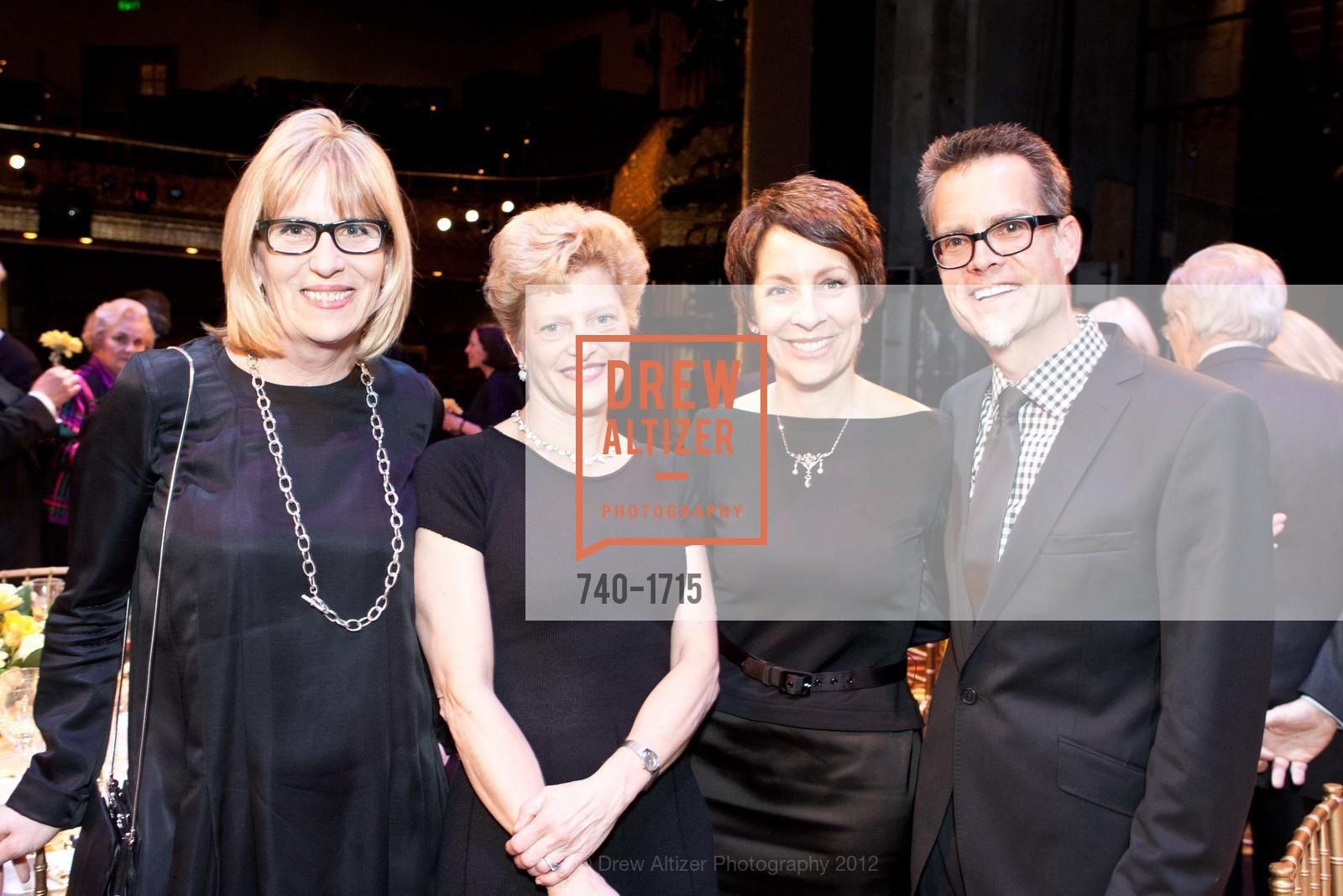 Ellen Richard, Carey Perloff, Patti Rueff, Rusty Rueff, Photo #740-1715