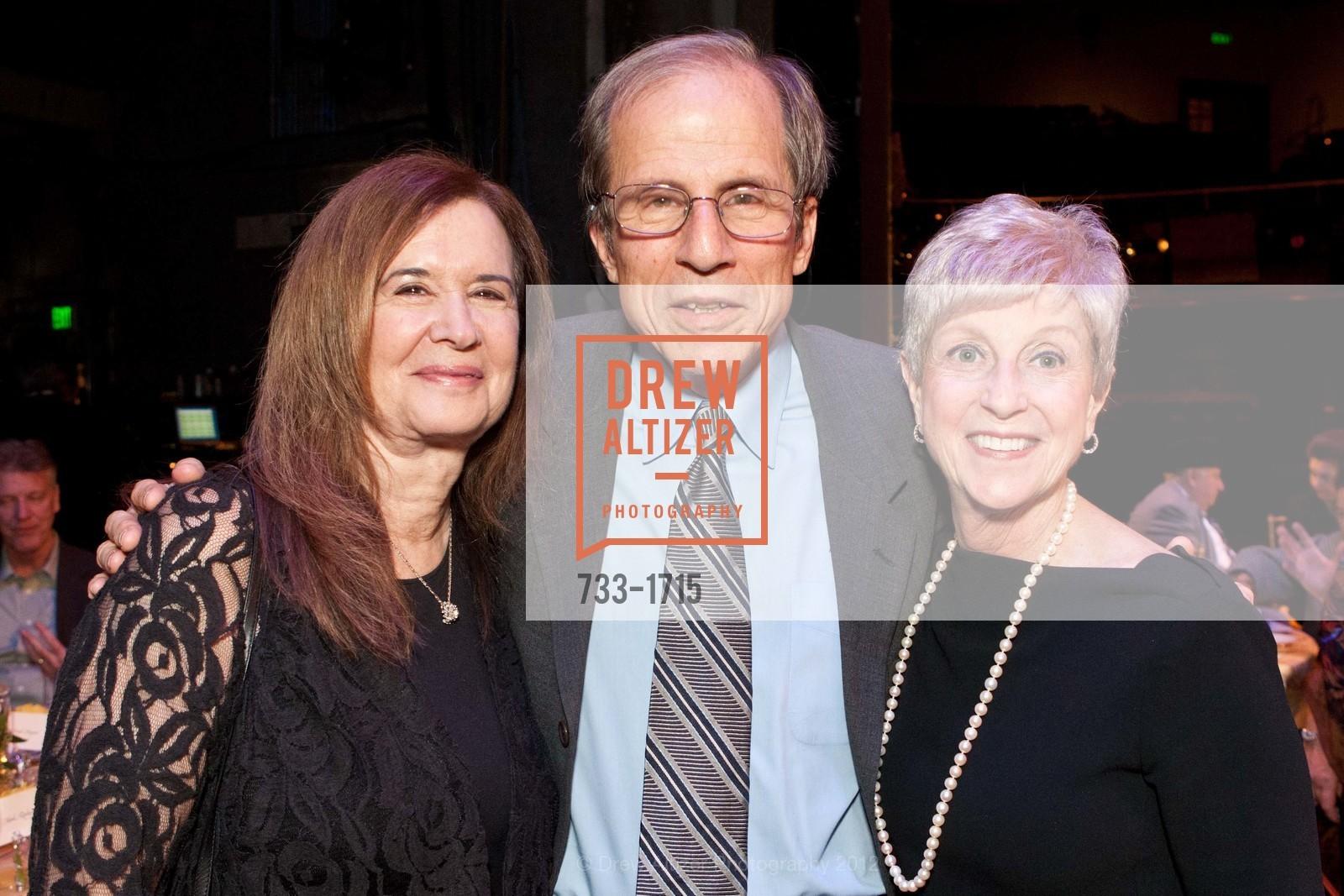 Leslie Krasny, Michael Krasny, Nancy Livingston, Photo #733-1715