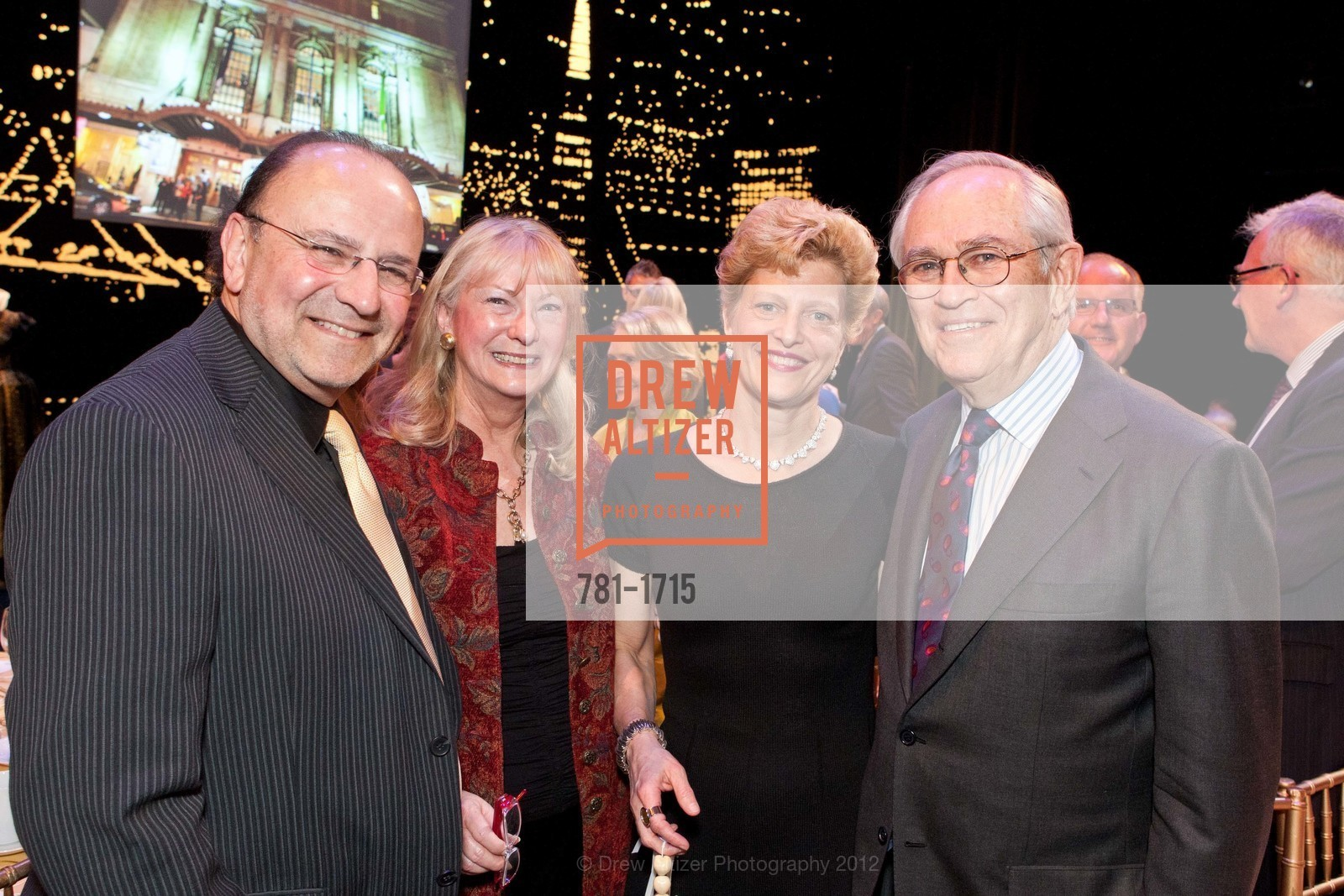 Jim Levy, Marcia Levy, Carey Perloff, Alan Stein, Photo #781-1715