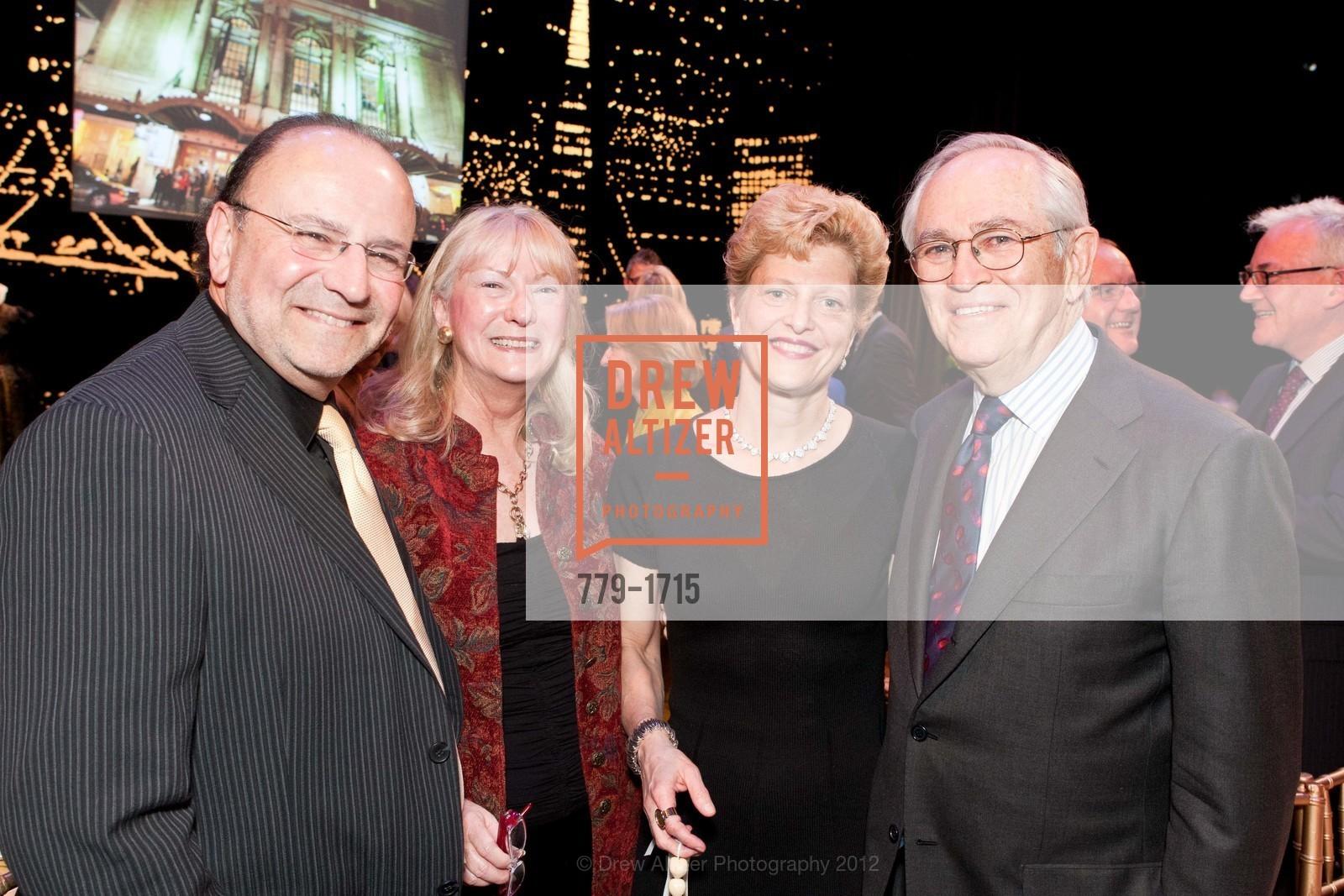 Jim Levy, Marcia Levy, Carey Perloff, Alan Stein, Photo #779-1715