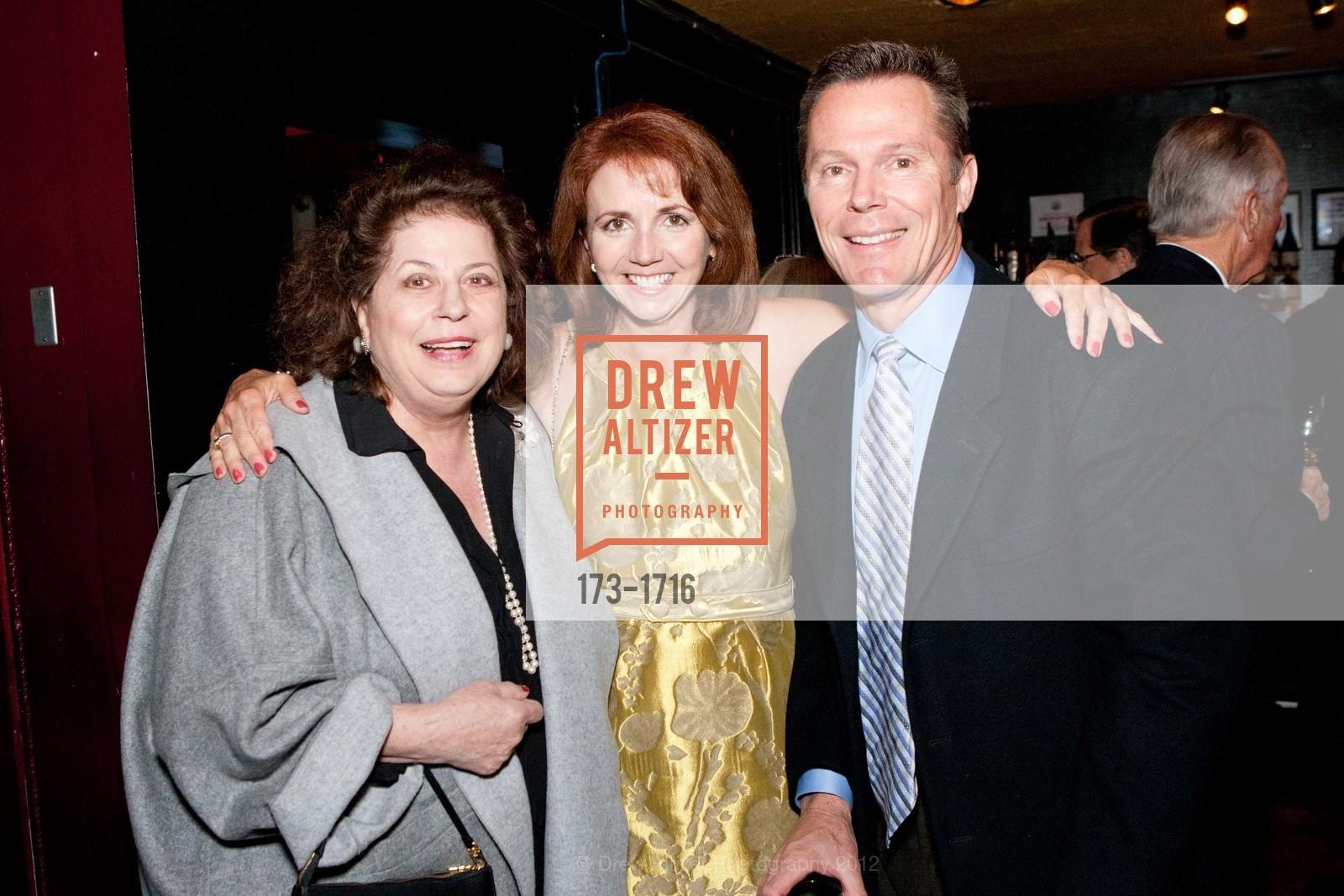 Ann Alioto, Joanne Maher, Jim Nolan, Photo #173-1716