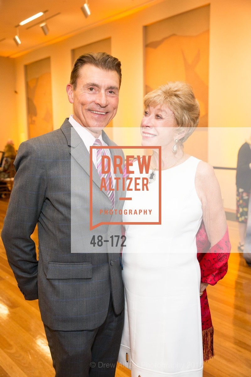 Robert Beadle, Maria Pitcairn, J.M.W. Turner: Painting Set Free opening reception, de Young Museum, June 17th, 2015,Drew Altizer, Drew Altizer Photography, full-service agency, private events, San Francisco photographer, photographer california