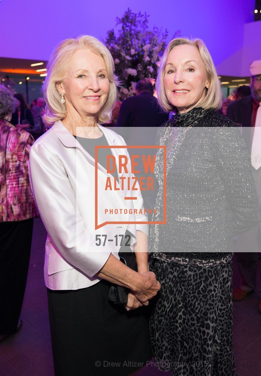 Pat Applegate, Sandra Swanson, J.M.W. Turner: Painting Set Free opening reception, de Young Museum, June 17th, 2015,Drew Altizer, Drew Altizer Photography, full-service agency, private events, San Francisco photographer, photographer california