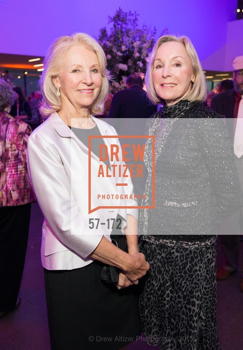 Pat Applegate, Sandra Swanson, J.M.W. Turner: Painting Set Free opening reception, de Young Museum, June 17th, 2015