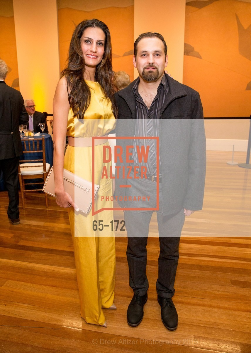 Leyla Alhosseini, Reza Alhosseini, J.M.W. Turner: Painting Set Free opening reception, de Young Museum, June 17th, 2015,Drew Altizer, Drew Altizer Photography, full-service agency, private events, San Francisco photographer, photographer california
