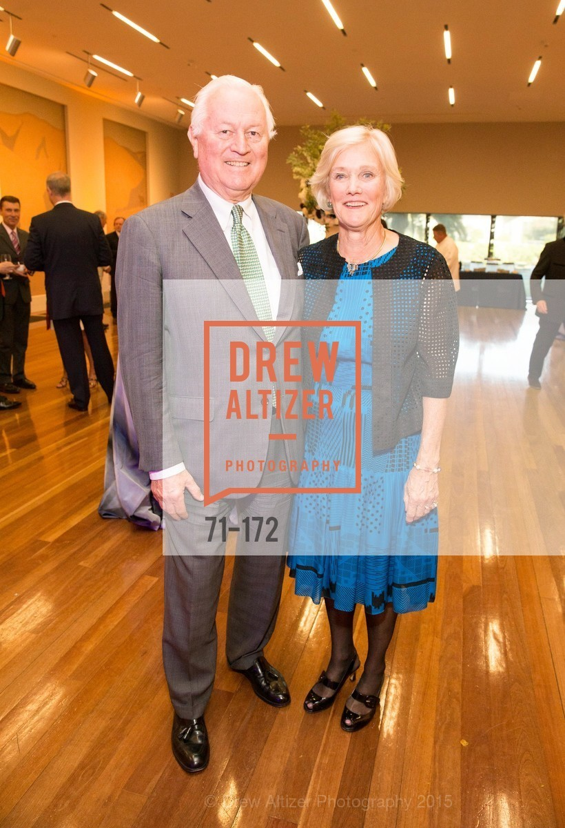 Dick Otter, Judy Wilbur, J.M.W. Turner: Painting Set Free opening reception, de Young Museum, June 17th, 2015,Drew Altizer, Drew Altizer Photography, full-service agency, private events, San Francisco photographer, photographer california