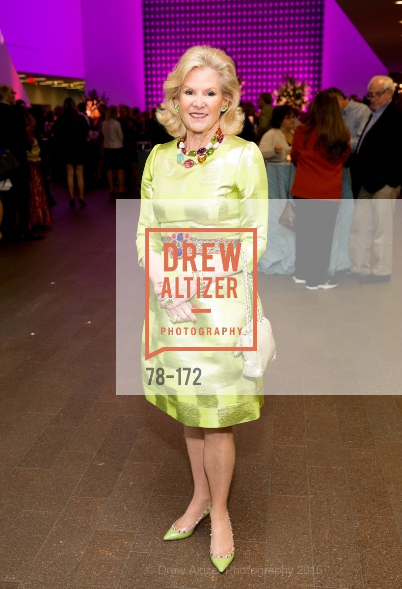 Dede Wilsey, J.M.W. Turner: Painting Set Free opening reception, de Young Museum, June 17th, 2015,Drew Altizer, Drew Altizer Photography, full-service agency, private events, San Francisco photographer, photographer california