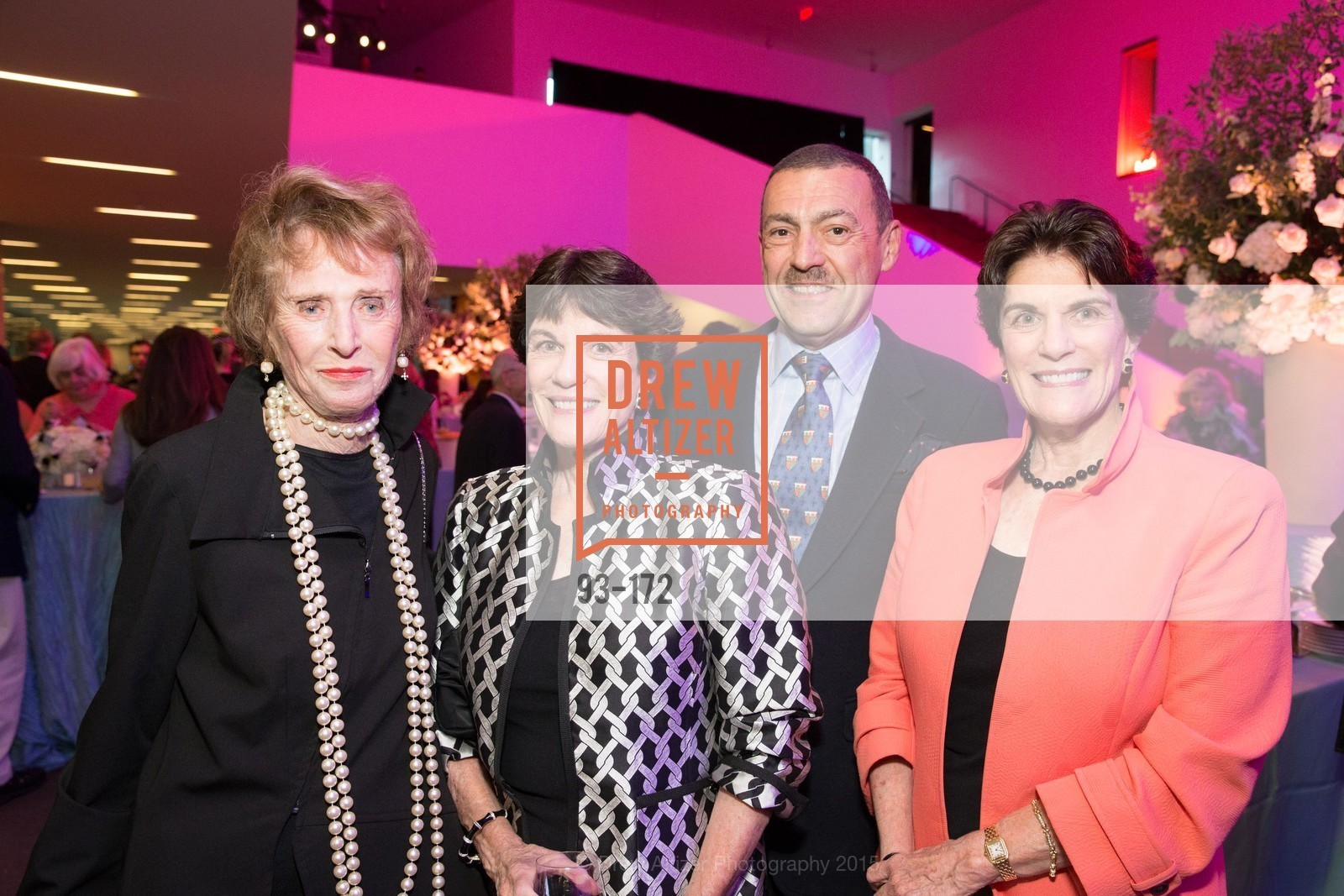 Vera Carpeneti, Glennie Eisele, Albert Bartridge, Francie Osthimer, J.M.W. Turner: Painting Set Free opening reception, de Young Museum, June 17th, 2015,Drew Altizer, Drew Altizer Photography, full-service event agency, private events, San Francisco photographer, photographer California