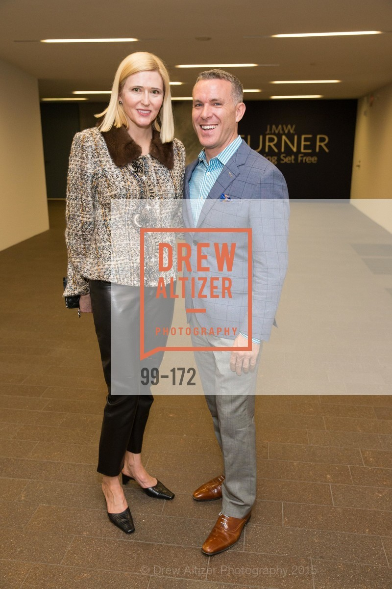 Lauren Hall, Antoine Delaitre, J.M.W. Turner: Painting Set Free opening reception, de Young Museum, June 17th, 2015,Drew Altizer, Drew Altizer Photography, full-service agency, private events, San Francisco photographer, photographer california