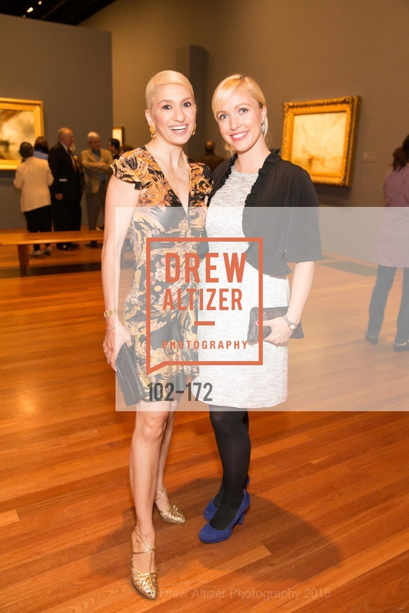 Navid Armstrong, Melissa Buron, J.M.W. Turner: Painting Set Free opening reception, de Young Museum, June 17th, 2015,Drew Altizer, Drew Altizer Photography, full-service agency, private events, San Francisco photographer, photographer california