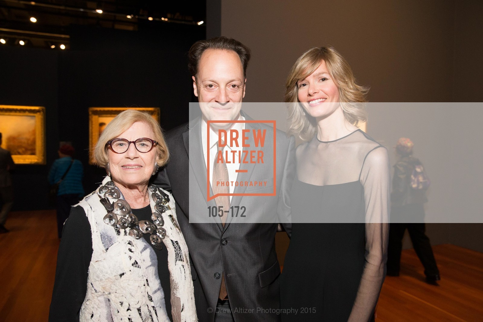 Dorothy Saxe, Timothy Burgard, Geraldine Kovac, J.M.W. Turner: Painting Set Free opening reception, de Young Museum, June 17th, 2015,Drew Altizer, Drew Altizer Photography, full-service agency, private events, San Francisco photographer, photographer california