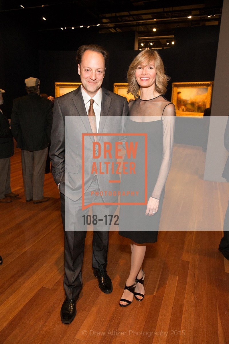 Timothy Burgard, Geraldine Kovac, J.M.W. Turner: Painting Set Free opening reception, de Young Museum, June 17th, 2015,Drew Altizer, Drew Altizer Photography, full-service agency, private events, San Francisco photographer, photographer california