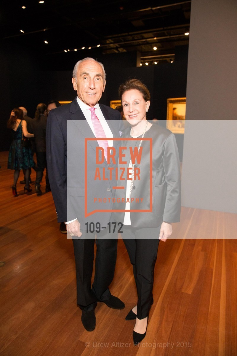Jerry Weissman, Lucie Weissman, J.M.W. Turner: Painting Set Free opening reception, de Young Museum, June 17th, 2015,Drew Altizer, Drew Altizer Photography, full-service agency, private events, San Francisco photographer, photographer california