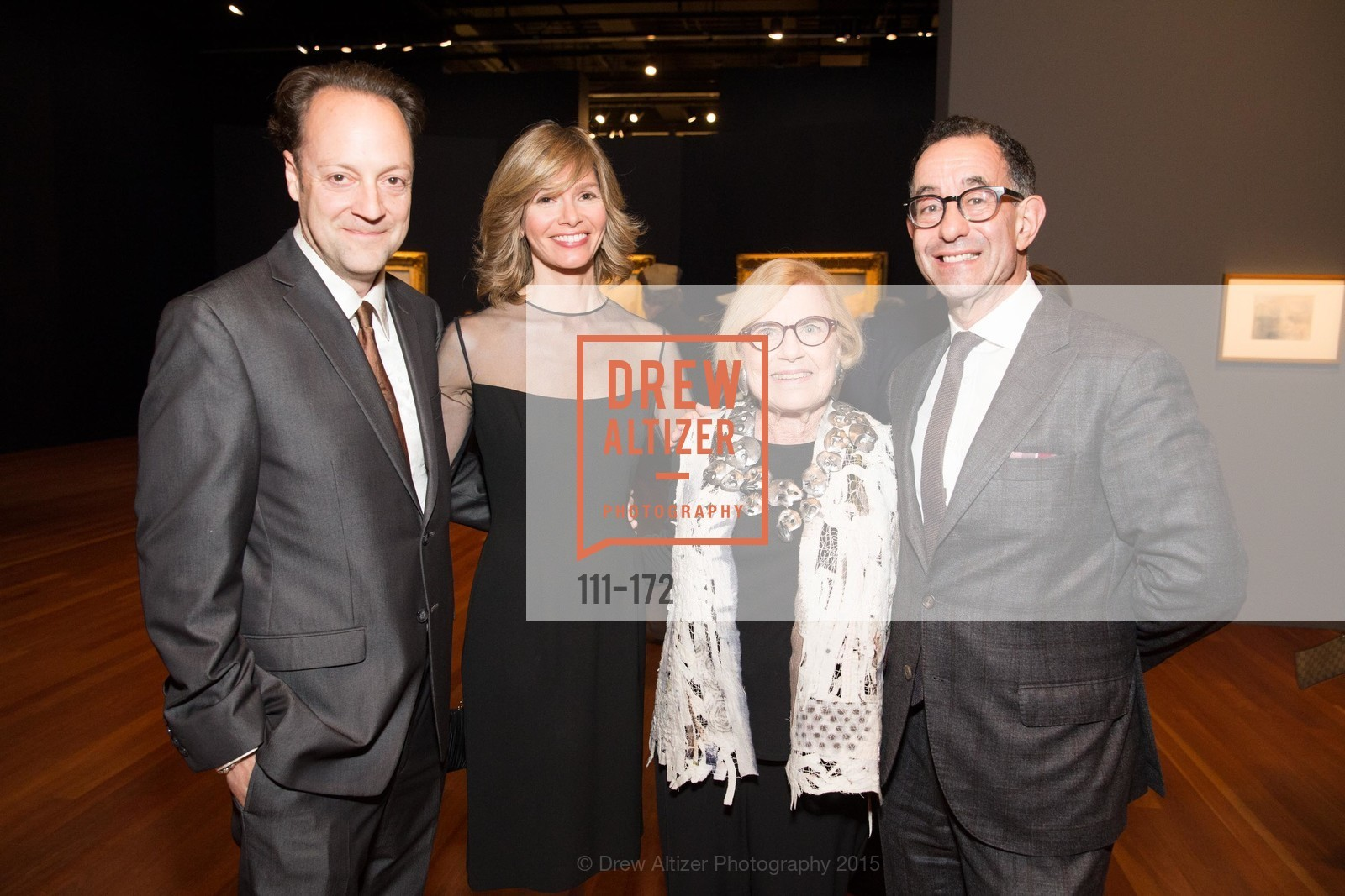 Timothy Burgard, Geraldine Kovac, Dorothy Saxe, Colin Bailey, J.M.W. Turner: Painting Set Free opening reception, de Young Museum, June 17th, 2015,Drew Altizer, Drew Altizer Photography, full-service agency, private events, San Francisco photographer, photographer california