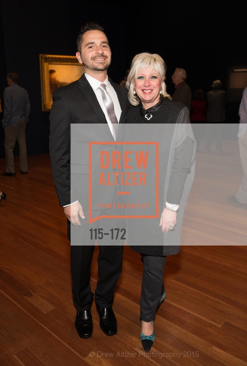 Chris Mouroufas, Thalia Stratton, J.M.W. Turner: Painting Set Free opening reception, de Young Museum, June 17th, 2015,Drew Altizer, Drew Altizer Photography, full-service event agency, private events, San Francisco photographer, photographer California
