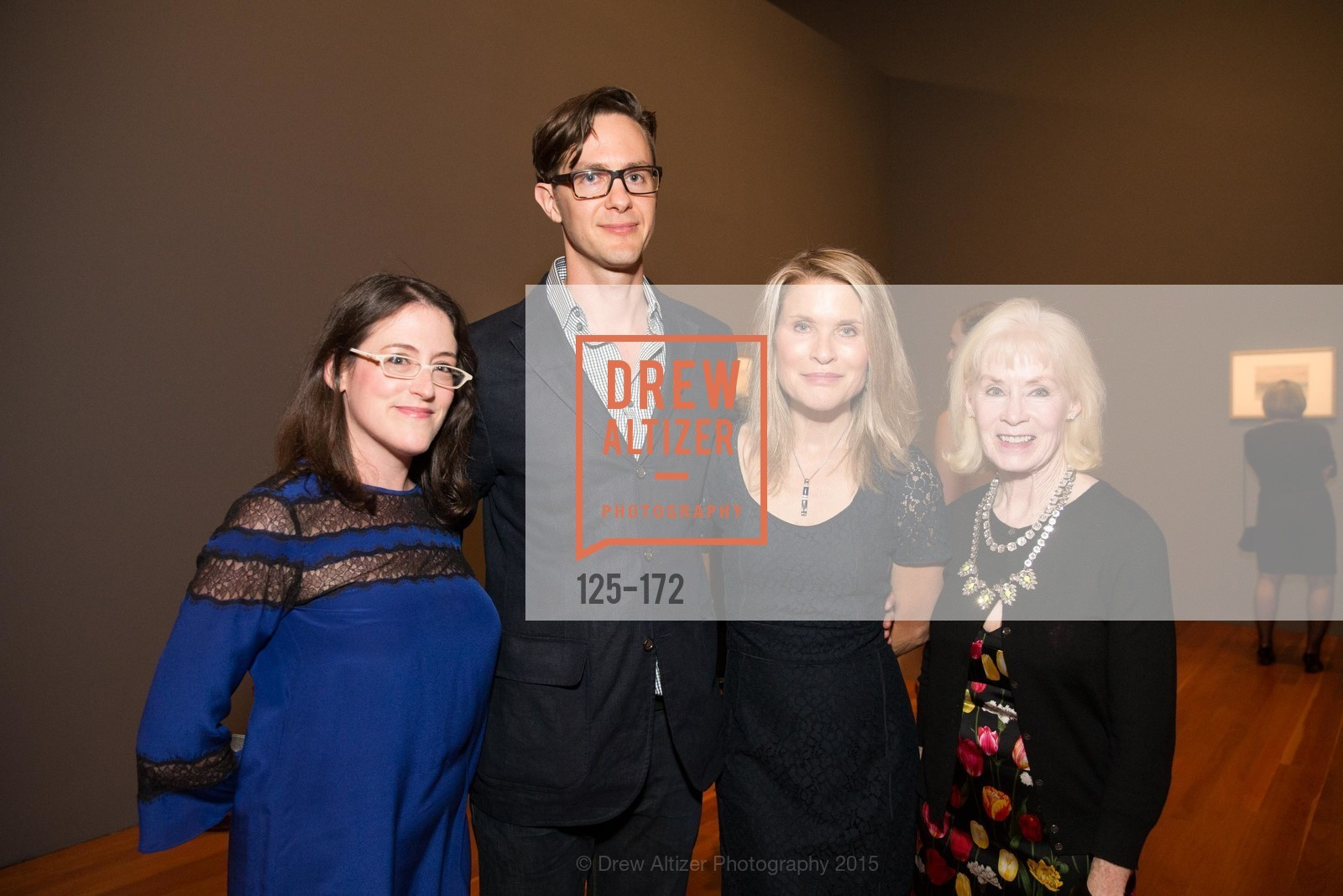 Esther Bell, David Molesky, Gwynned Vitello, Beth Izmirian, J.M.W. Turner: Painting Set Free opening reception, de Young Museum, June 17th, 2015,Drew Altizer, Drew Altizer Photography, full-service agency, private events, San Francisco photographer, photographer california