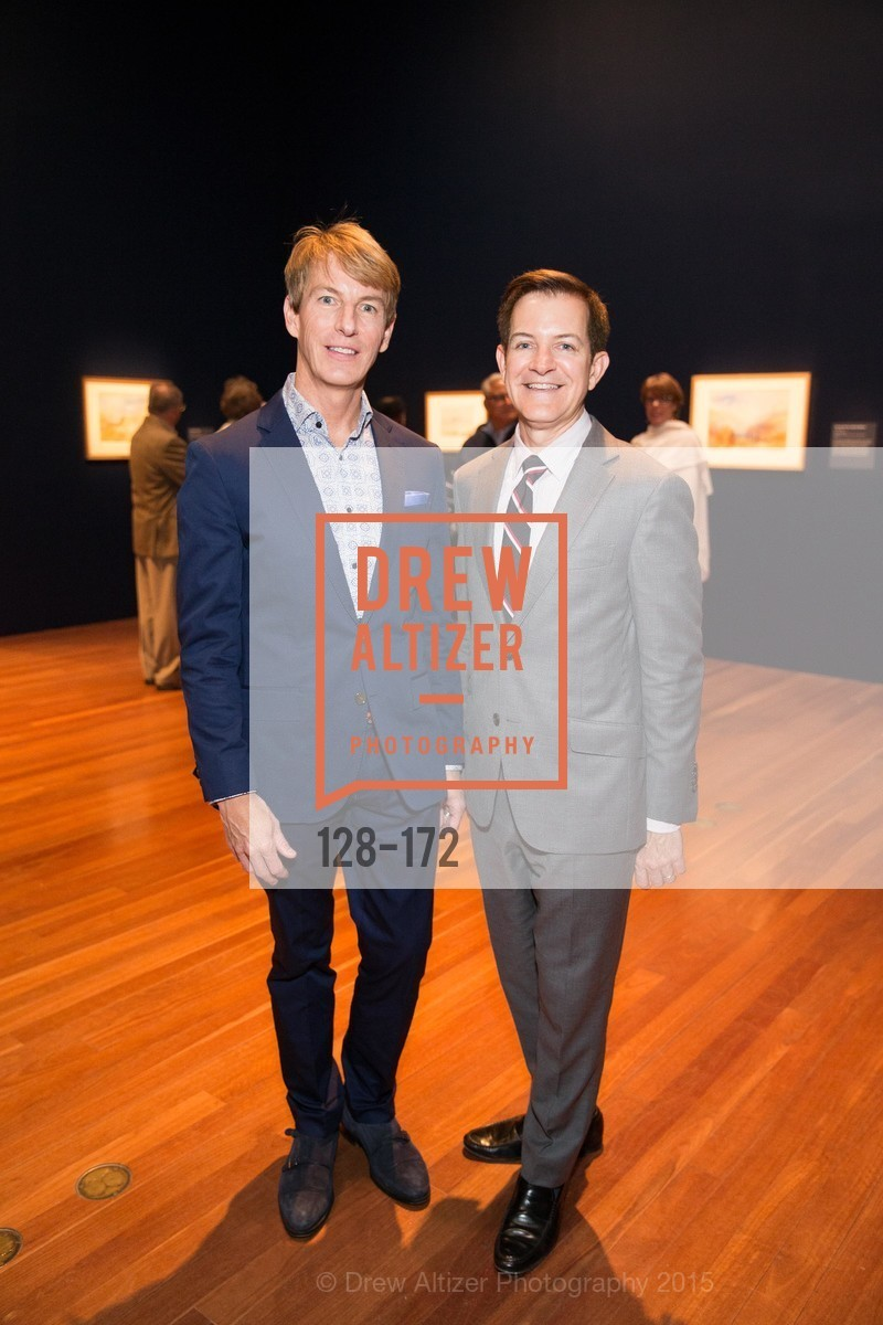 Jack Calhoun, Trent Norris, J.M.W. Turner: Painting Set Free opening reception, de Young Museum, June 17th, 2015,Drew Altizer, Drew Altizer Photography, full-service agency, private events, San Francisco photographer, photographer california