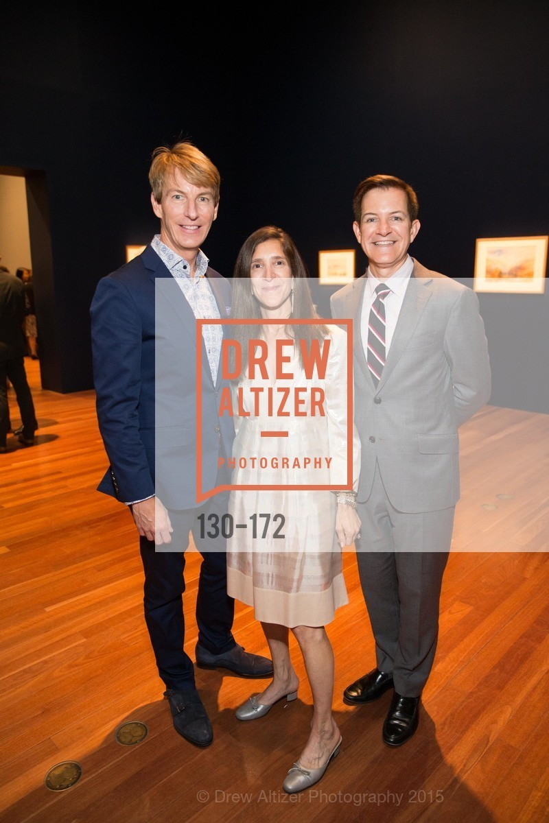 Jack Calhoun, Lisa Podos, Trent Norris, J.M.W. Turner: Painting Set Free opening reception, de Young Museum, June 17th, 2015,Drew Altizer, Drew Altizer Photography, full-service agency, private events, San Francisco photographer, photographer california