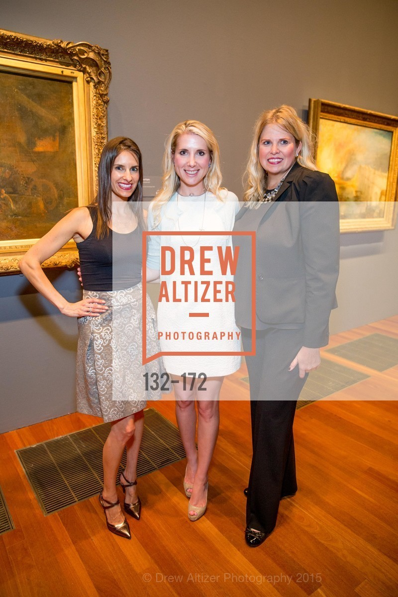 Patricia Dassios, Samantha Hartwell, Julie Yarbrough, J.M.W. Turner: Painting Set Free opening reception, de Young Museum, June 17th, 2015,Drew Altizer, Drew Altizer Photography, full-service agency, private events, San Francisco photographer, photographer california