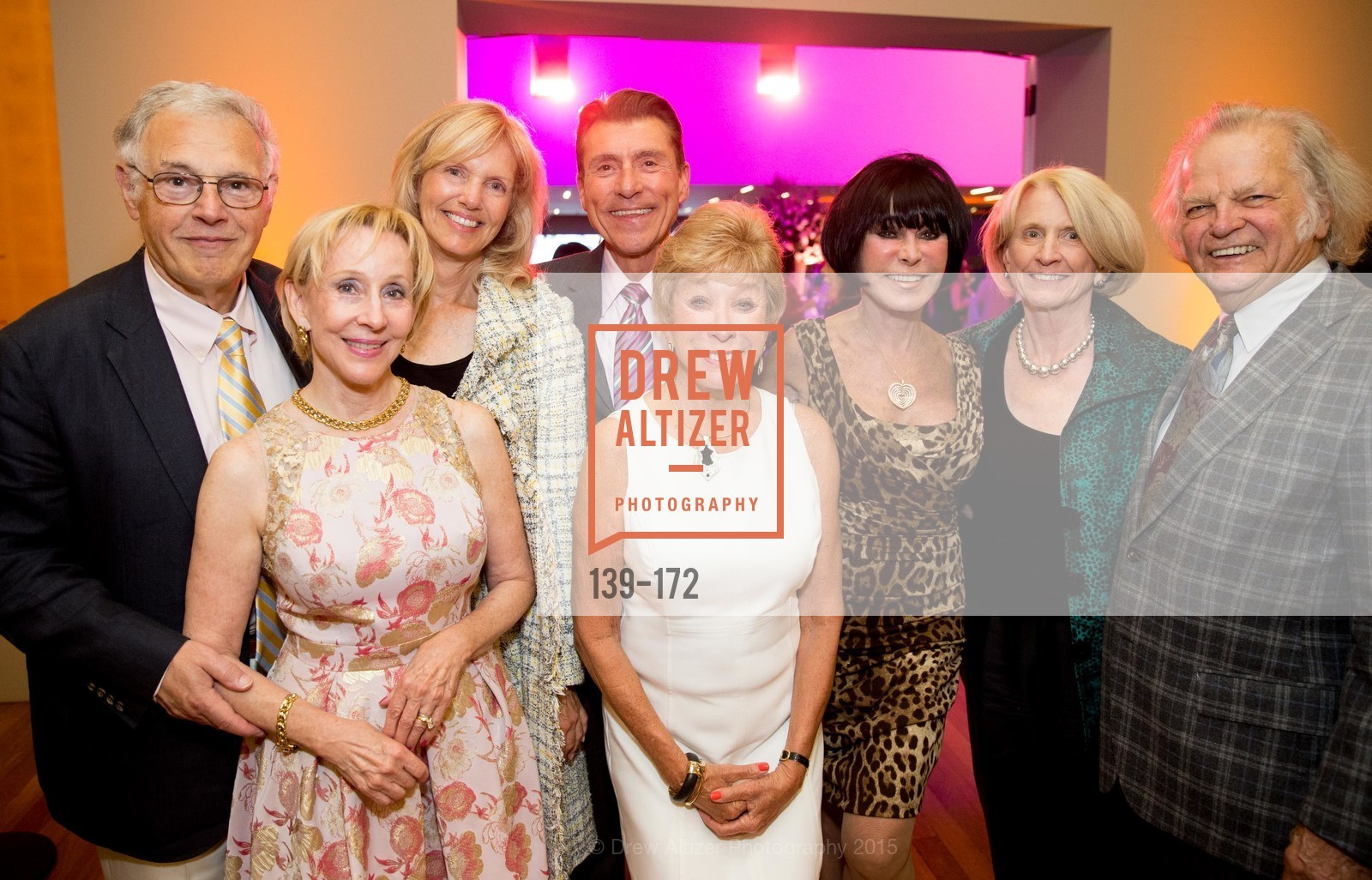 John Lavorgna, Pamela Rigg, Andrea Schultz, Robert Beadle, Maria Pitcairn, Marilyn Cabak, Joan Lavorgna, Michael Cabak, J.M.W. Turner: Painting Set Free opening reception, de Young Museum, June 17th, 2015,Drew Altizer, Drew Altizer Photography, full-service event agency, private events, San Francisco photographer, photographer California