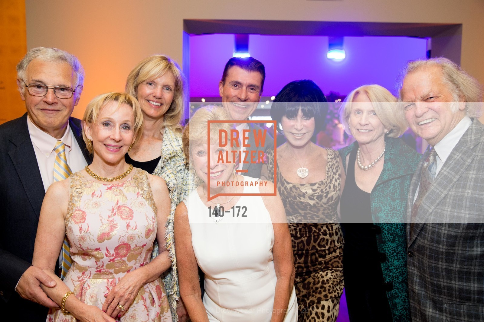 John Lavorgna, Pamela Rigg, Andrea Schultz, Robert Beadle, Maria Pitcairn, Marilyn Cabak, Joan Lavorgna, Michael Cabak, J.M.W. Turner: Painting Set Free opening reception, de Young Museum, June 17th, 2015,Drew Altizer, Drew Altizer Photography, full-service agency, private events, San Francisco photographer, photographer california