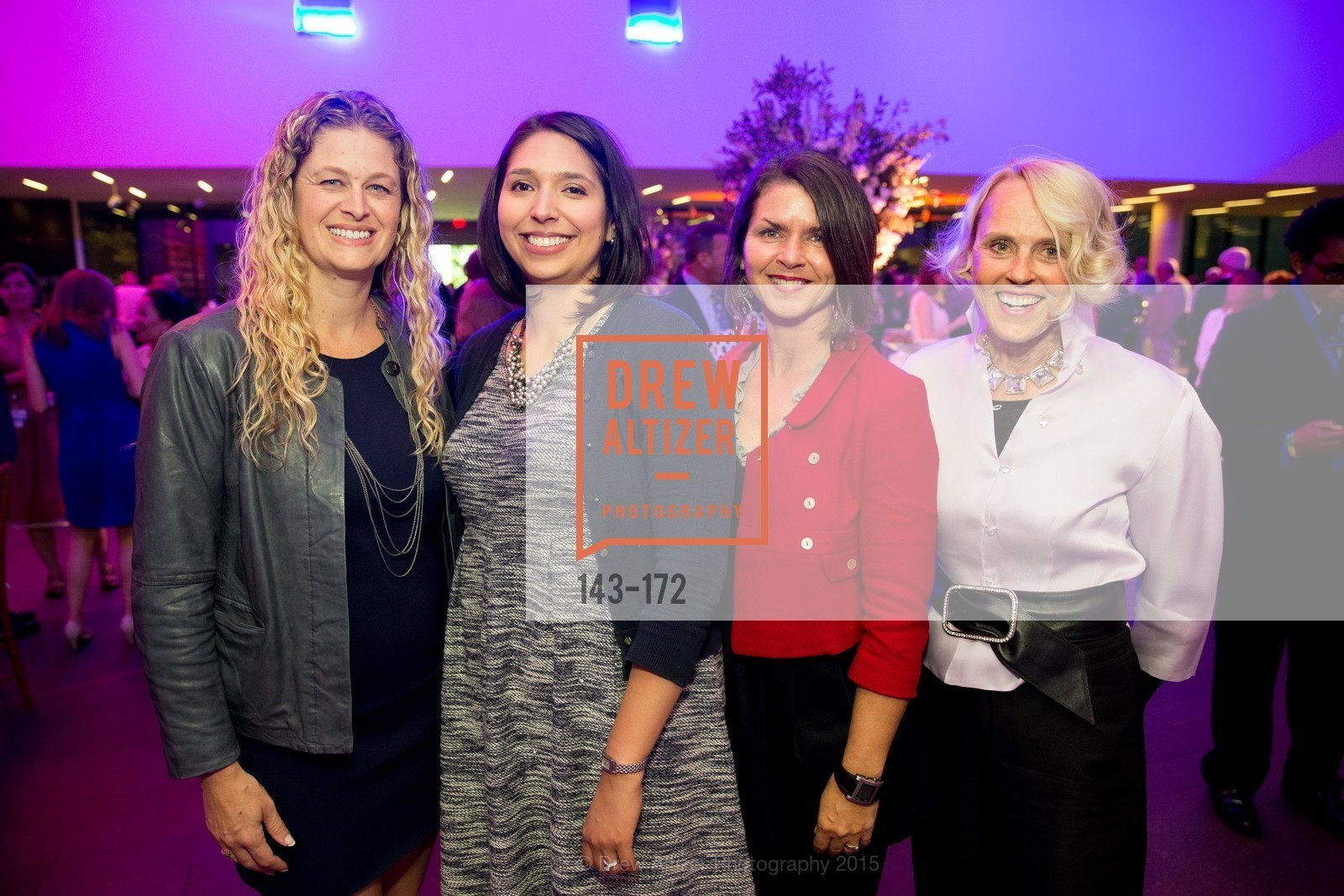 Elana Vasconcelos, Chloe Mecum, Therese Hauber, Diana Lyster, J.M.W. Turner: Painting Set Free opening reception, de Young Museum, June 17th, 2015,Drew Altizer, Drew Altizer Photography, full-service agency, private events, San Francisco photographer, photographer california