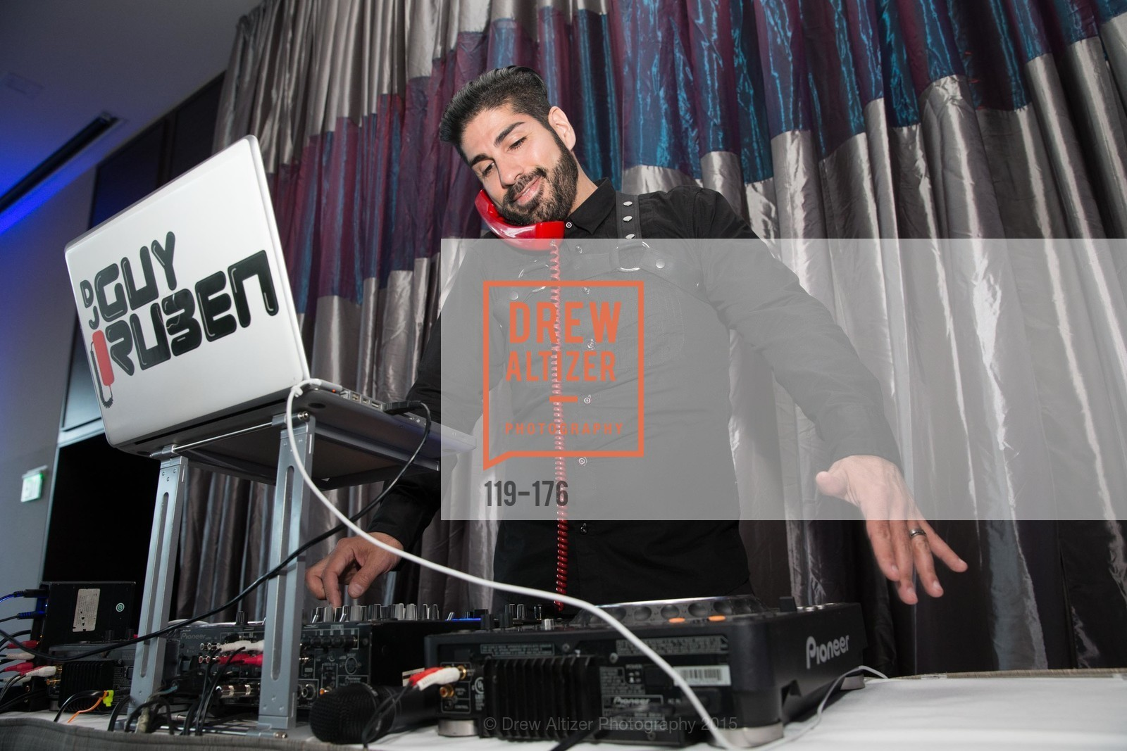 DJ Guy Ruben, VIP Pride Celebration 2015, St. Regis, June 18th, 2015,Drew Altizer, Drew Altizer Photography, full-service agency, private events, San Francisco photographer, photographer california