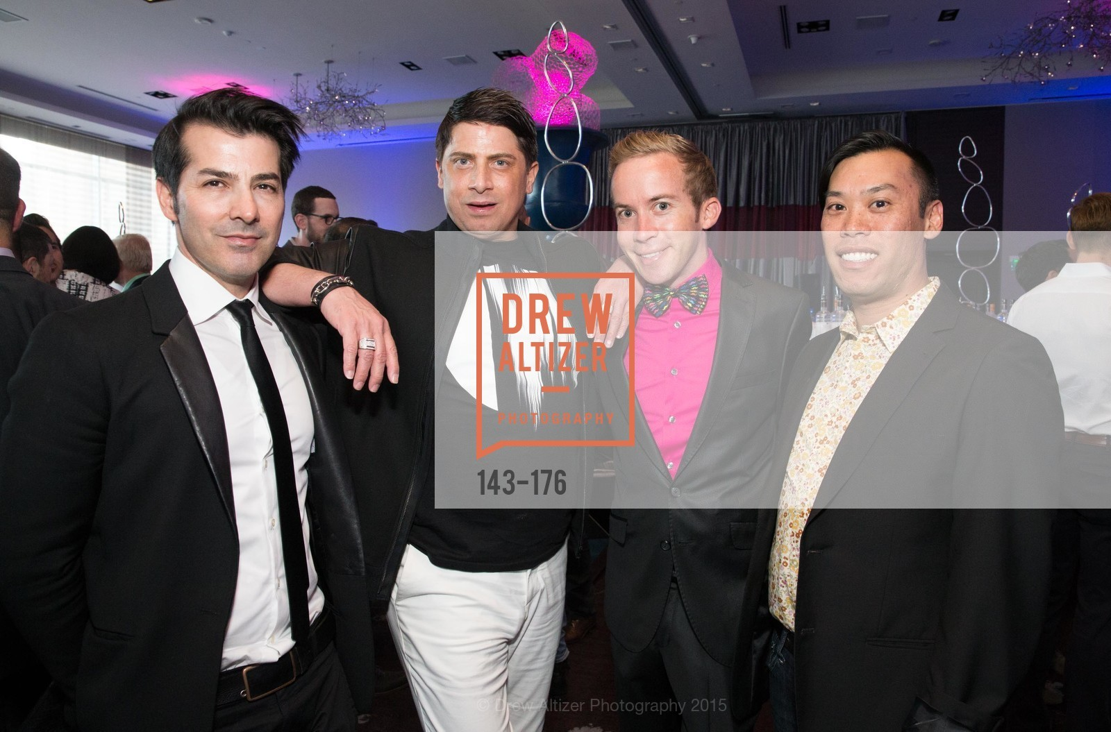 Bacca de Silva, Aubrey Brewster, Skye Patterson, Alvin Ma, VIP Pride Celebration 2015, St. Regis, June 18th, 2015,Drew Altizer, Drew Altizer Photography, full-service agency, private events, San Francisco photographer, photographer california