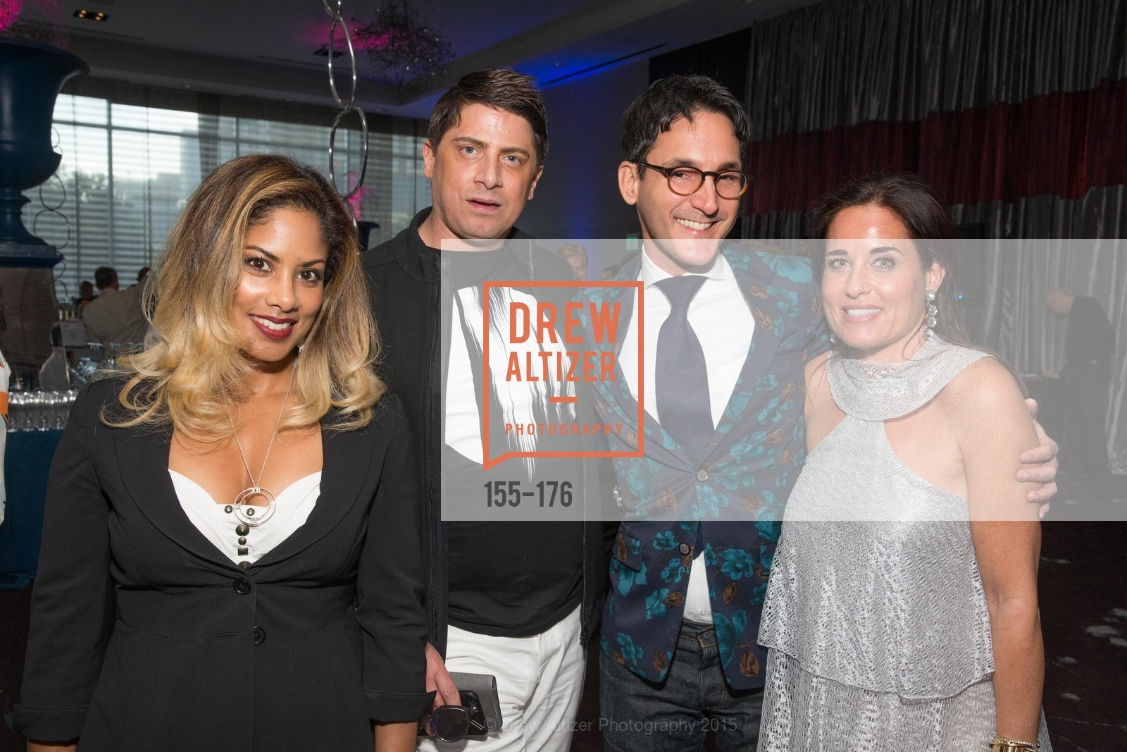 Aubrey Brewster, James Krohn, Natalia Urrutia, VIP Pride Celebration 2015, St. Regis, June 18th, 2015,Drew Altizer, Drew Altizer Photography, full-service agency, private events, San Francisco photographer, photographer california
