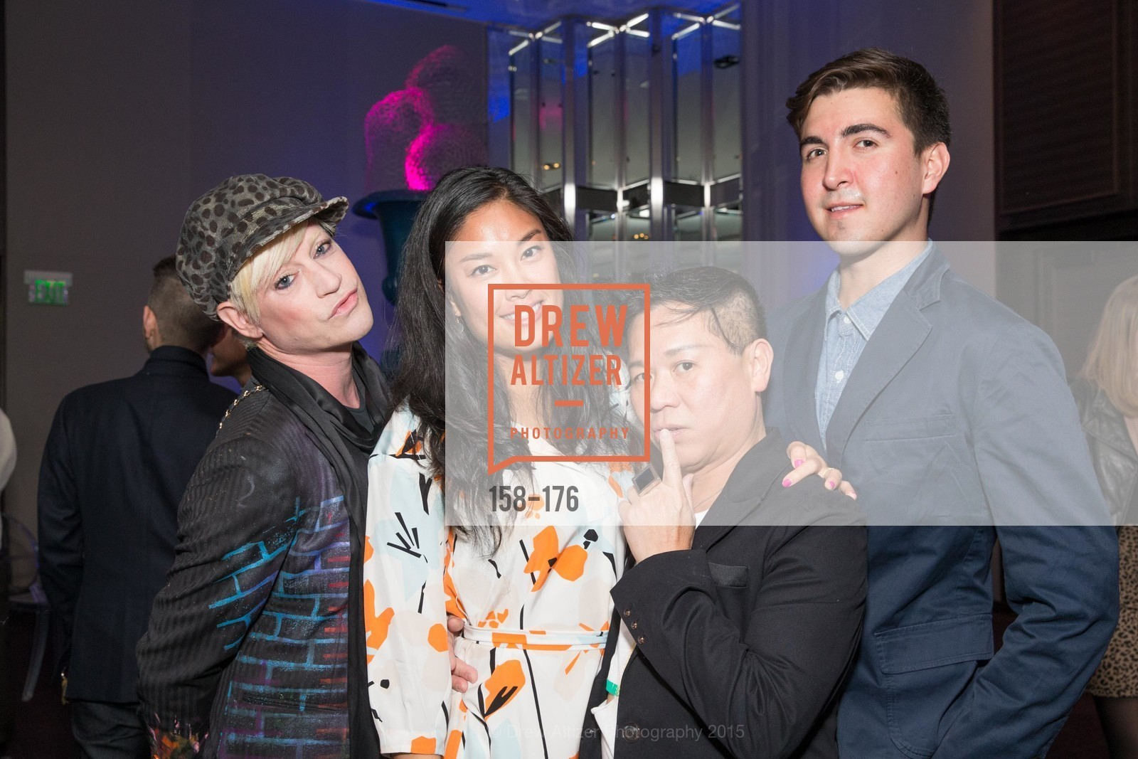 Richie Rich, Diana Guo, Baby Chic, Davey Silva, VIP Pride Celebration 2015, St. Regis, June 18th, 2015,Drew Altizer, Drew Altizer Photography, full-service agency, private events, San Francisco photographer, photographer california