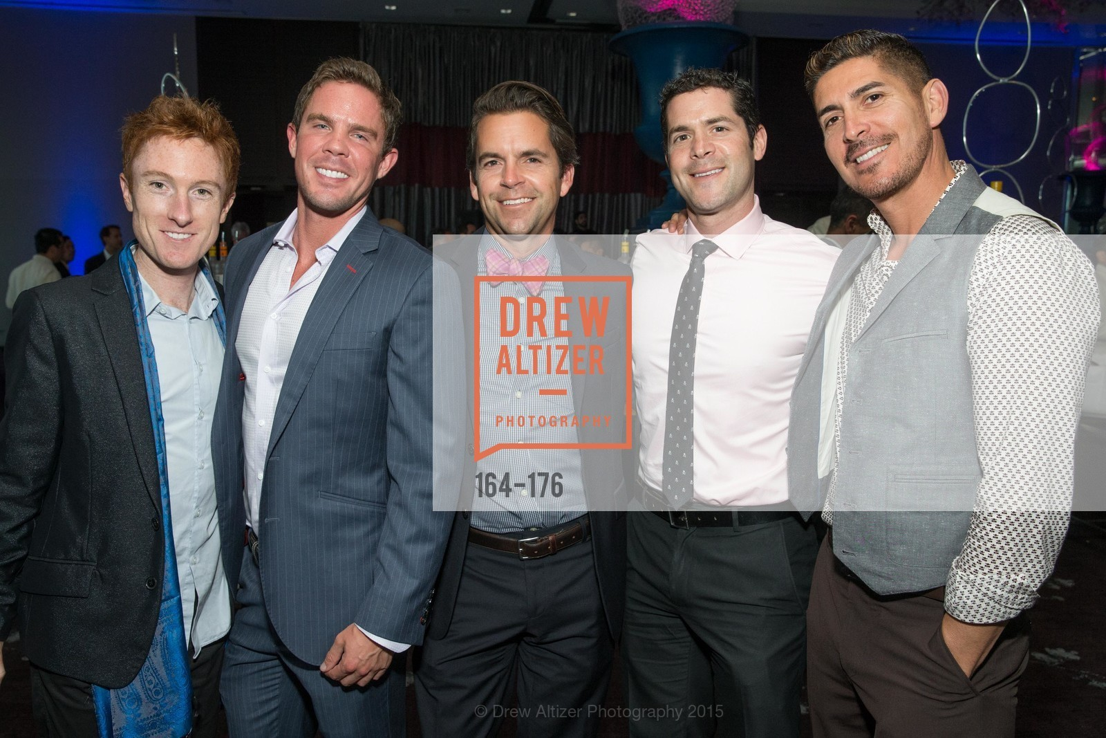 Brad Sullivan, Philip Hutches, Robert Pinnix, Charles Bello, Ernesto Peralta, VIP Pride Celebration 2015, St. Regis, June 18th, 2015,Drew Altizer, Drew Altizer Photography, full-service agency, private events, San Francisco photographer, photographer california