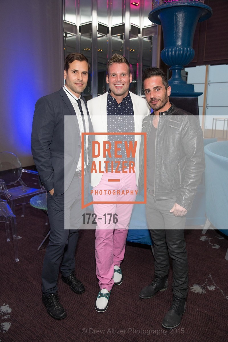 Patrick Devin, Josh Morgan, Michel Khairallah, VIP Pride Celebration 2015, St. Regis, June 18th, 2015,Drew Altizer, Drew Altizer Photography, full-service agency, private events, San Francisco photographer, photographer california
