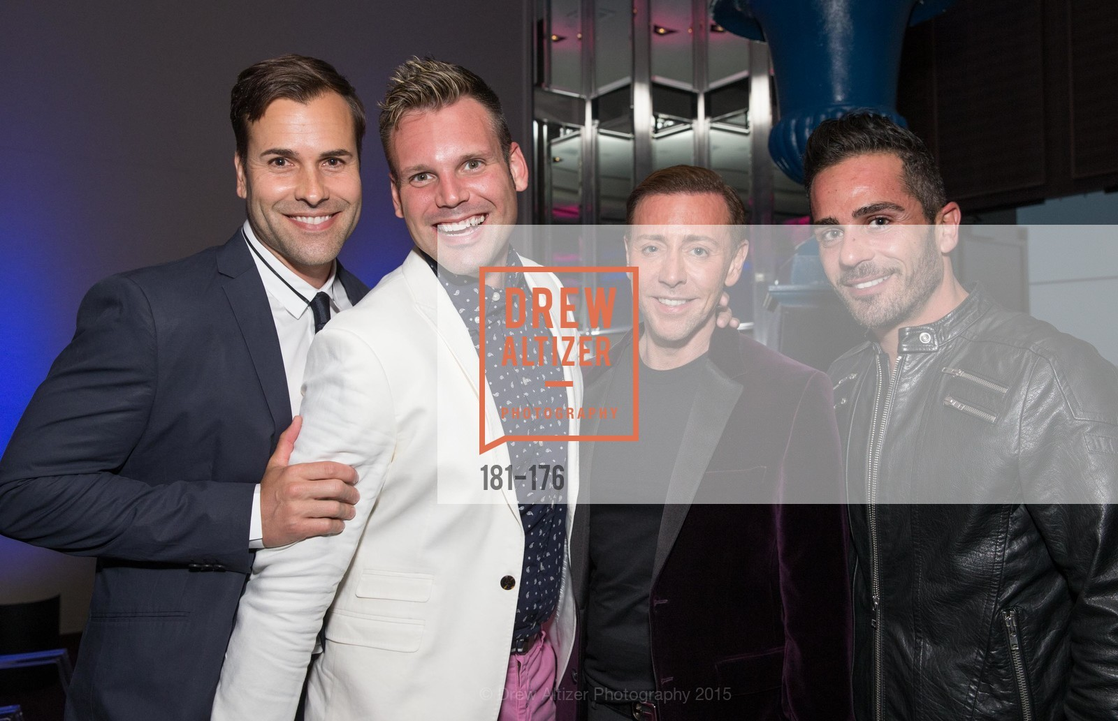 Patrick Devin, Josh Morgan, Mark Rhoades, Michel Khairallah, VIP Pride Celebration 2015, St. Regis, June 18th, 2015,Drew Altizer, Drew Altizer Photography, full-service agency, private events, San Francisco photographer, photographer california