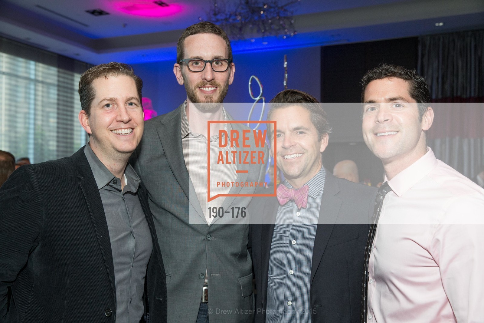 Andrew Schmidt, Supervisor Scott Wiener, Robert Bennett, Charles Bello, VIP Pride Celebration 2015, St. Regis, June 18th, 2015,Drew Altizer, Drew Altizer Photography, full-service agency, private events, San Francisco photographer, photographer california