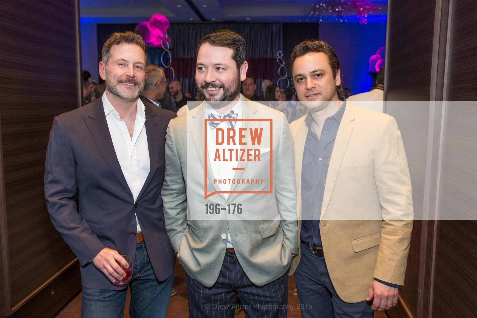 Brian Allen, Brandon Hernandez, Lou Cassidy, VIP Pride Celebration 2015, St. Regis, June 18th, 2015,Drew Altizer, Drew Altizer Photography, full-service agency, private events, San Francisco photographer, photographer california