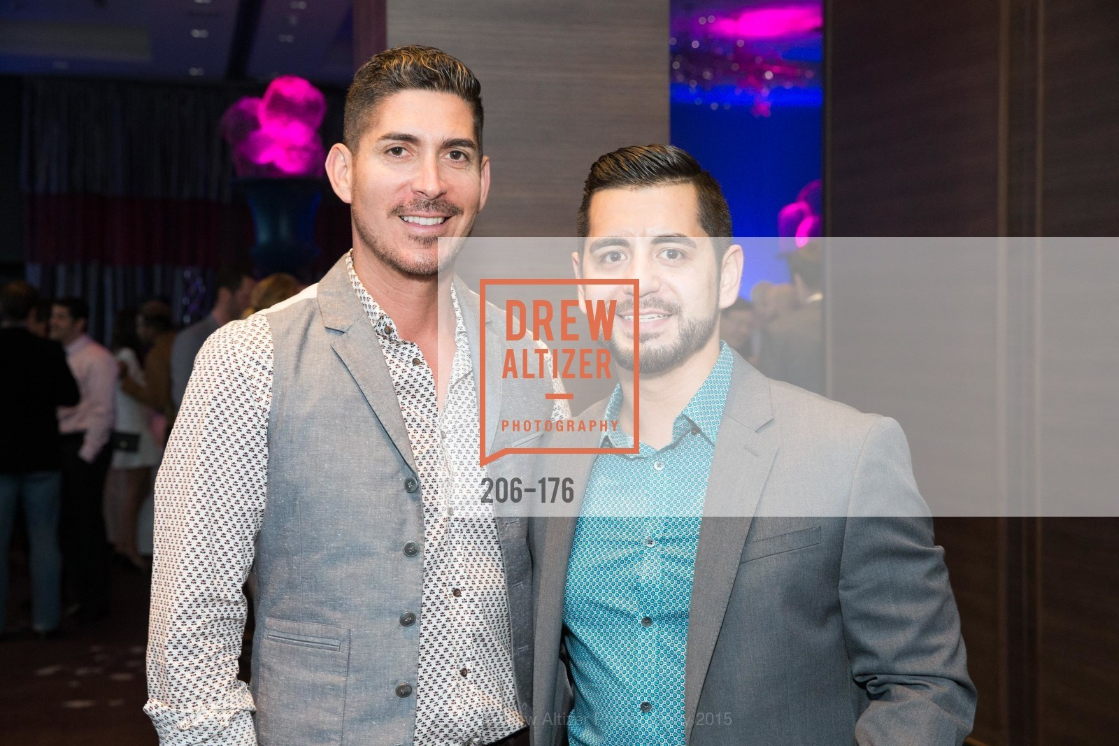Ernesto Peralta, Mario Banuelos, VIP Pride Celebration 2015, St. Regis, June 18th, 2015,Drew Altizer, Drew Altizer Photography, full-service agency, private events, San Francisco photographer, photographer california